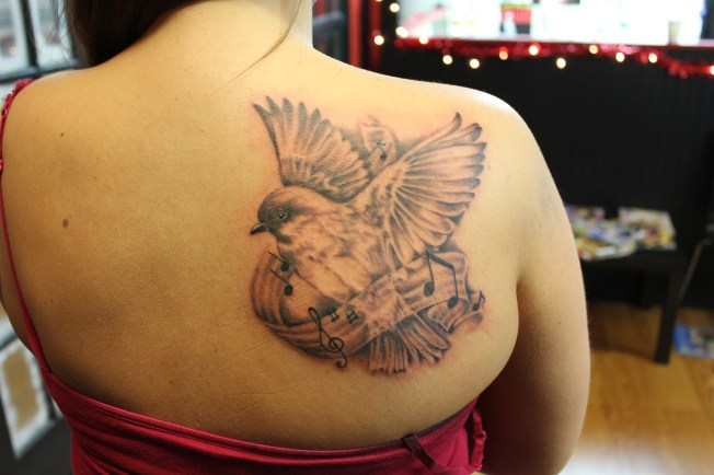Songbird tattoo-by Delan