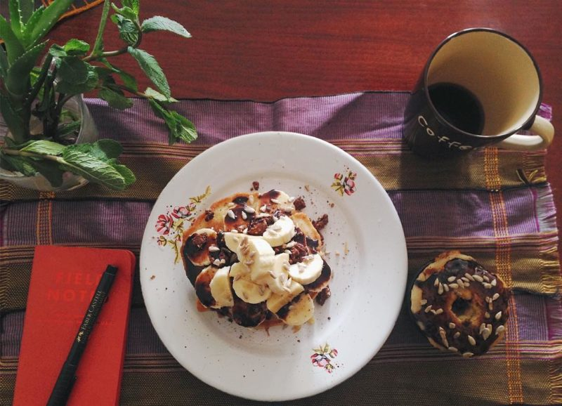 morning time pancakes