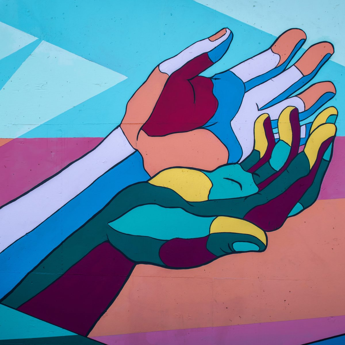 Colorful Hands mental health