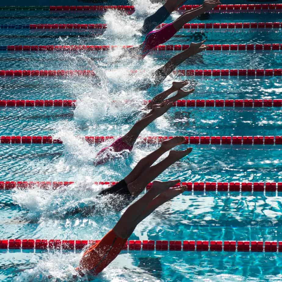 swimming competition by serena repice lentini on unsplash in Delfina Hoxha's blog