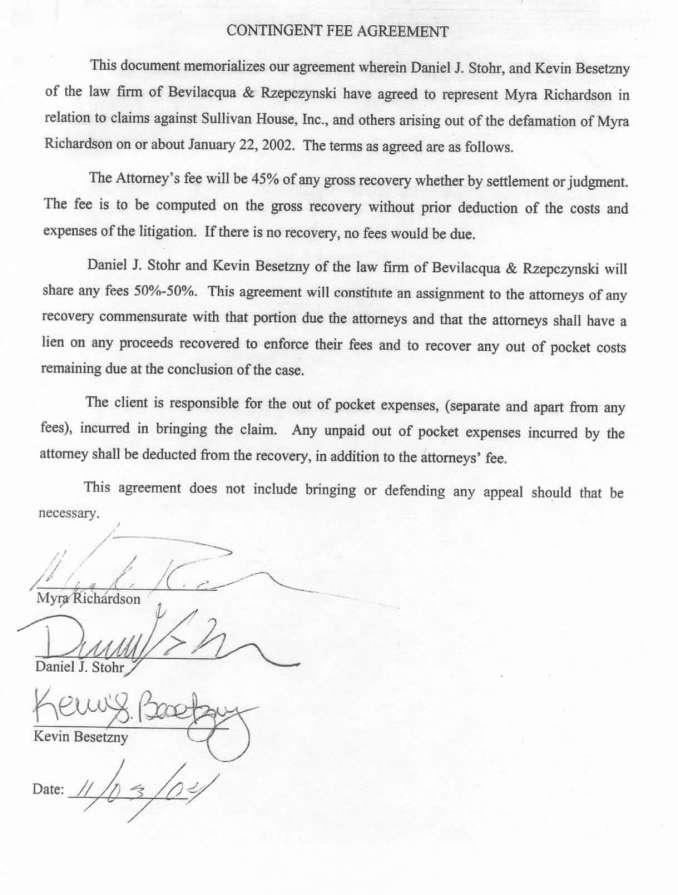 Fee Agreement Letter Newsinvitation