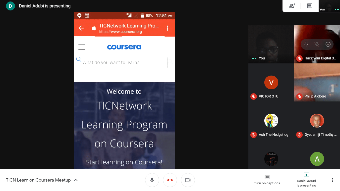 Learn with Coursera Program..