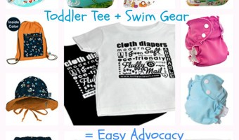 Be a Cloth Diaper Advocate this Summer Without Saying a Word!
