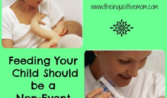 Breastfeeding Should be a Non-Event