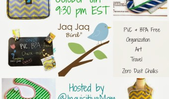 RSVP for the Jaq Jaq Bird Twitter Party 10/8! Stylish & Sustainable Accessories for Babies & Kids!