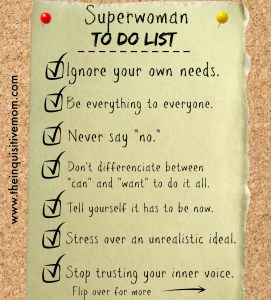 Superwoman To Do List