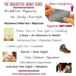 The Inquisitive Mom's Guide to Mothers Day Gifts