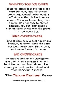Choose Kindness Cards Explained