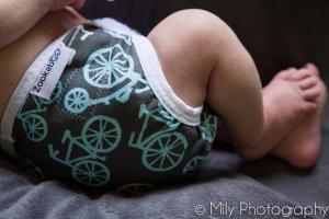 Zookaboo Bikes Diaper Cover #4thTimeBabyShower