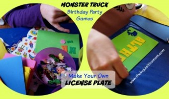 Monster Truck Birthday Party on a Budget