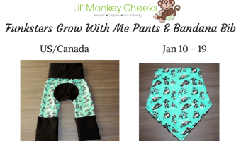 Lil' Monkey Cheeks Funksters Giveaway!