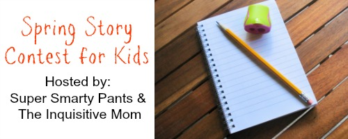 Spring Story Writing Contest for Kids