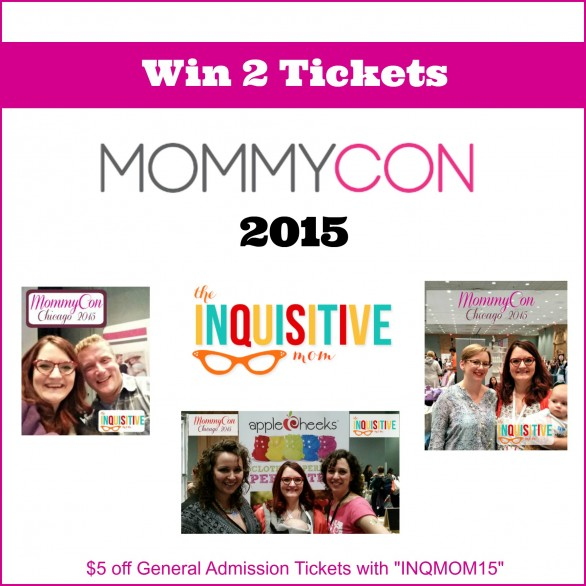 Win 2 MommyCon 2015 Tickets from The Inquisitive Mom