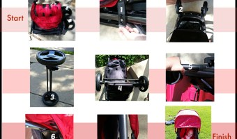 Combi Fold N Go Stroller Easy Assembly in 10 Minutes