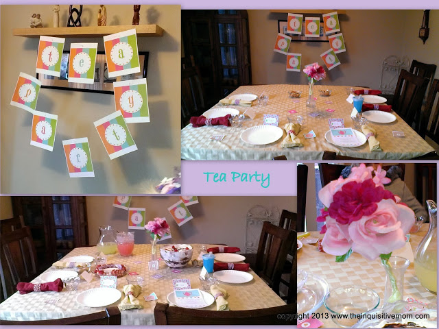 Mother's Day Gifts for Grandma Brunch or Tea Party