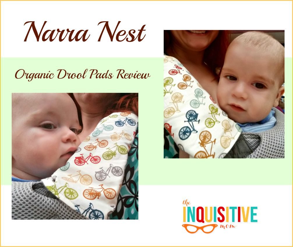 Narra Nest Organic Drool Pads Review