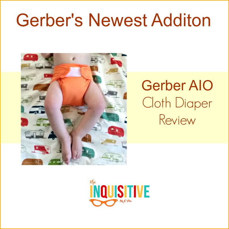 Gerbers Newest Addition. AIO Cloth Diaper Review