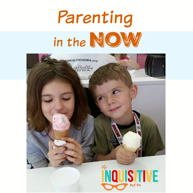 Parenting in the Now. Now consumes me with all of its wonder, challenges, and unknowns.
