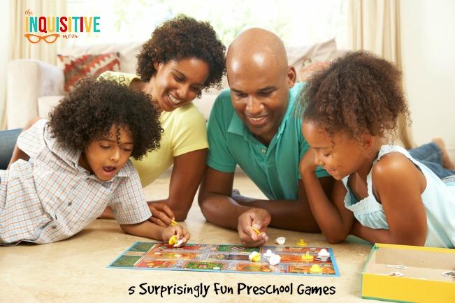 Enjoy some Screen Free Time with 5 Surprisingly Fun Preschool Games.