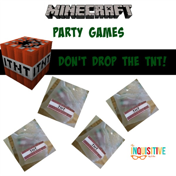 Minecraft Party Games. Don't Drop the TNT.