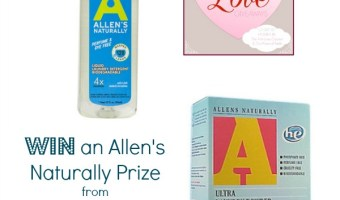 Allen's Naturally Giveaway – We Love Giveaways Blog Hop