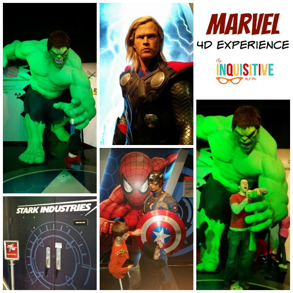 Madame Tussauds New York Marvel 4D Experience
