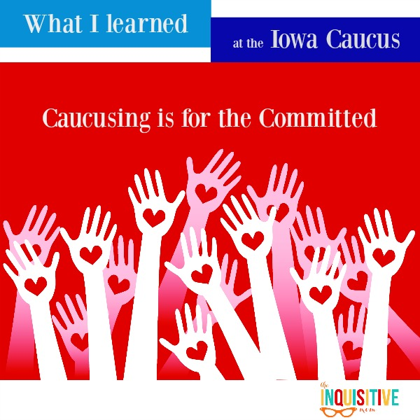 Caucusing is for the Committed
