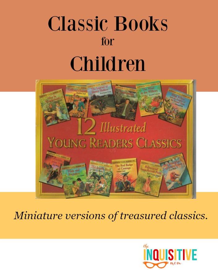 Classic Books for Children. Find miniature versions of treasured classics.