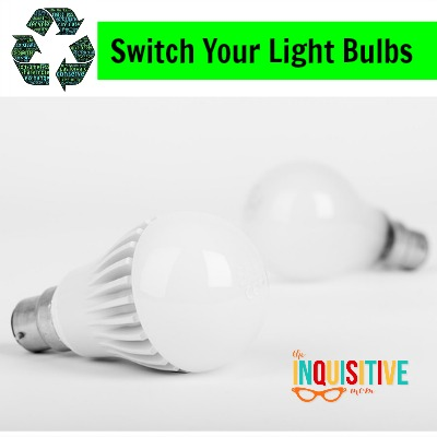 7 Ways to Switch to Sustainable Switch Your Light Bulbs.