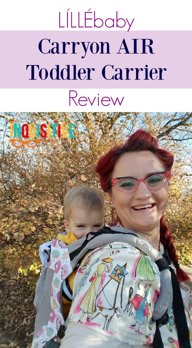2460157f3ab LÍLLÉbaby Carryon Toddler Carrier Review - The Inquisitive Mom