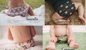 Buttons Cloth Diapers Seasonal Prints Review