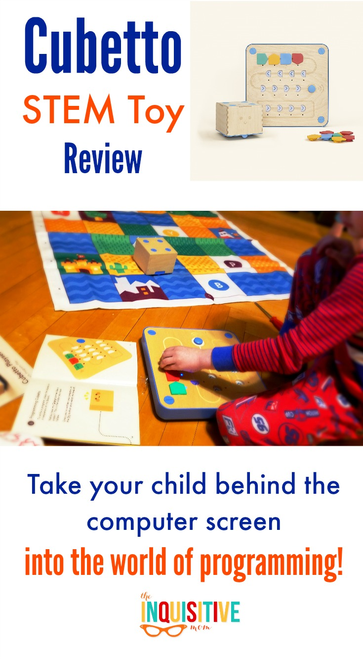 Cubetto STEM Toy Review. Programming Fun for Kids!