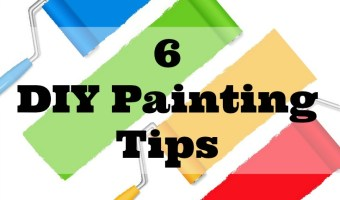 6 DIY Painting Tips from The Inquisitive Mom