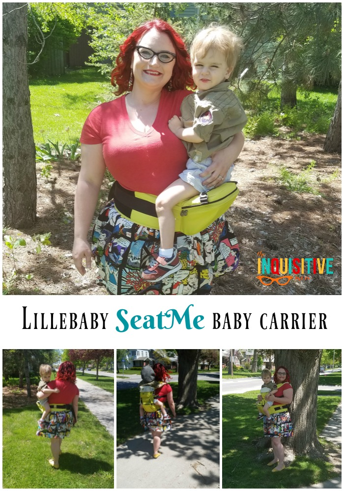 Lillebaby SeatMe Review from The Inquisitive Mom