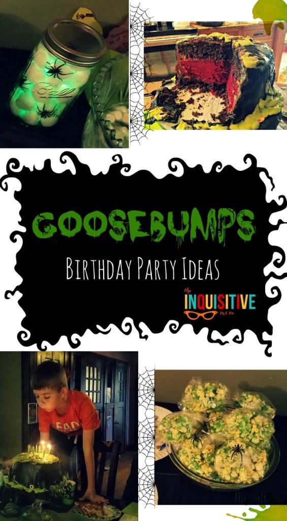 Goosebumps Birthday Party Ideas