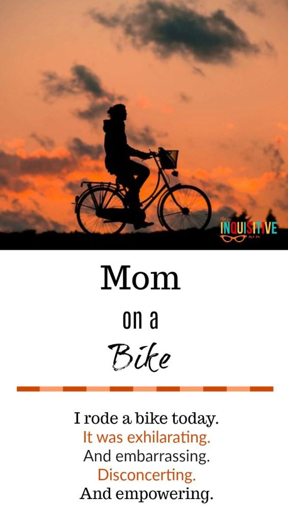 Mom on a Bike