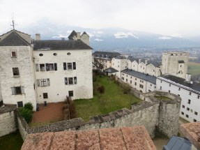 View from castle tower