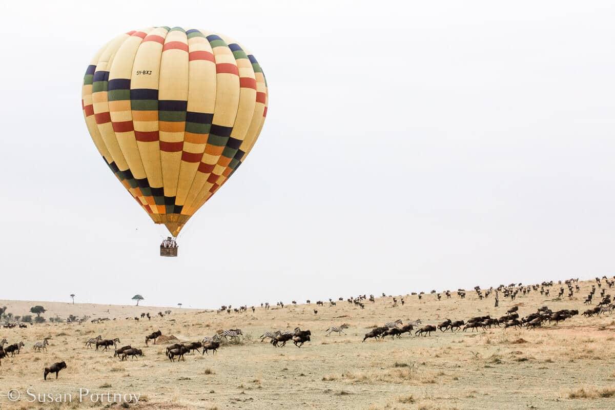 Kenya - Why Everyone should Try Hot Air Ballooning