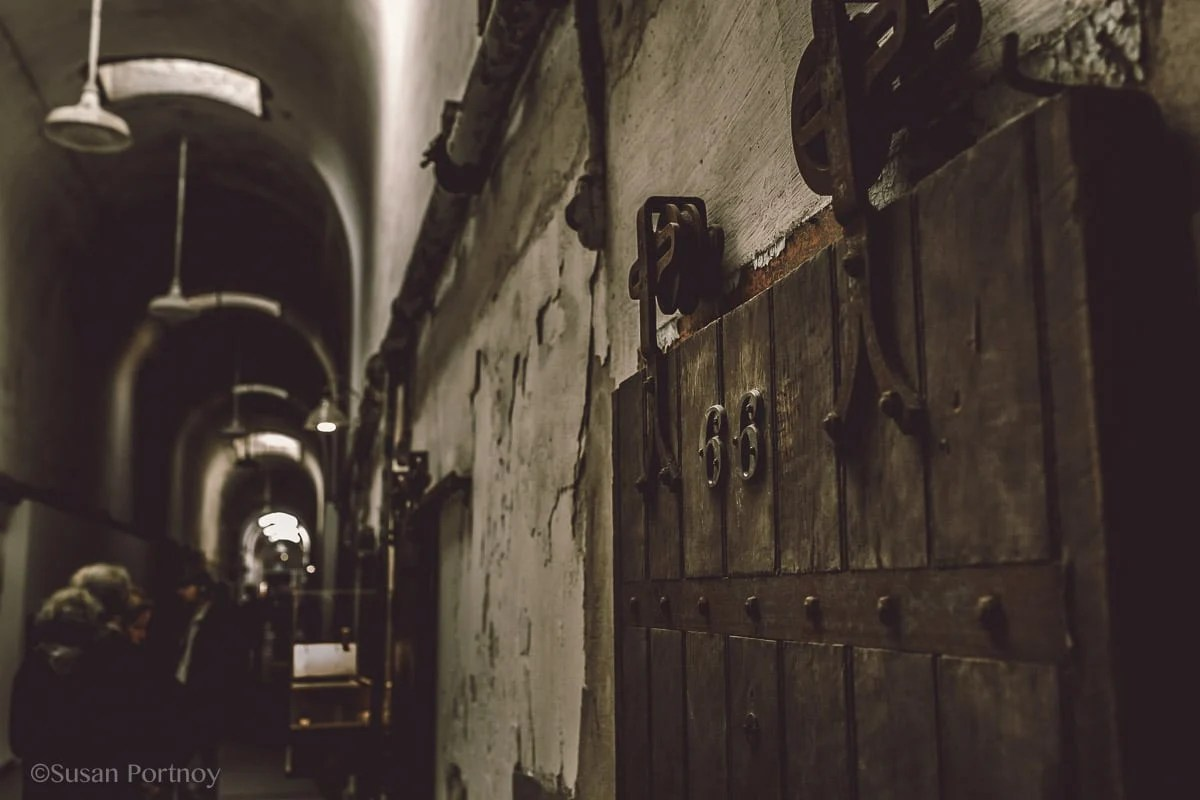 Cell 66 at Eastern State Penitentiary