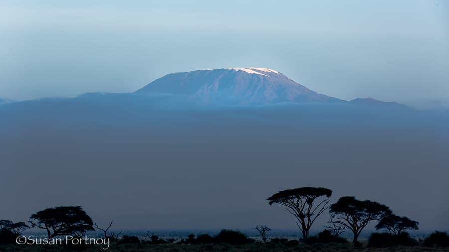 Mount Kilimanjaro.