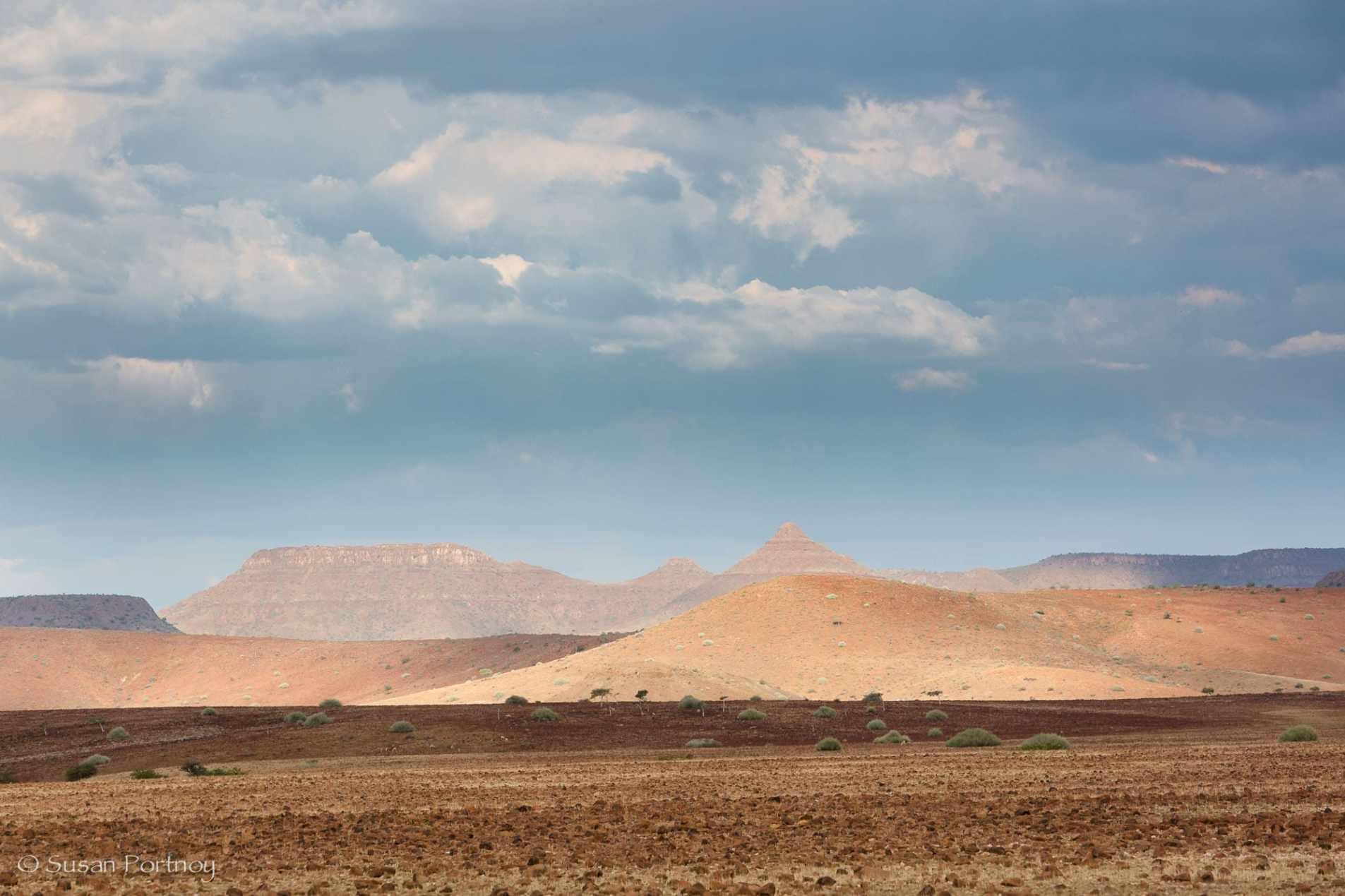 Mountains near Desert Rhino Camp, Namibia