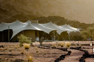 Main Tent at Haonib Skeleton Coast Camp, Namibia
