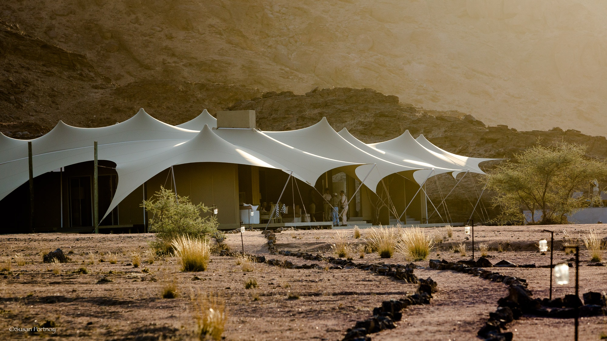 Main Tent at Haonib Skeleton Coast C& Namibia & My Vote for a New JJ Abramu0027s Flick - Hoanib Skeleton Coast Camp