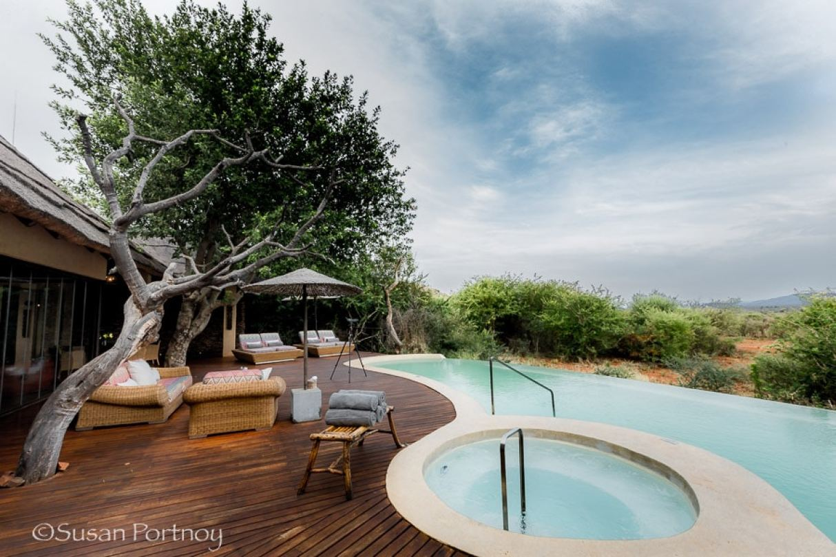 Molori Safari Lodge, celebrity hotel in South Africa