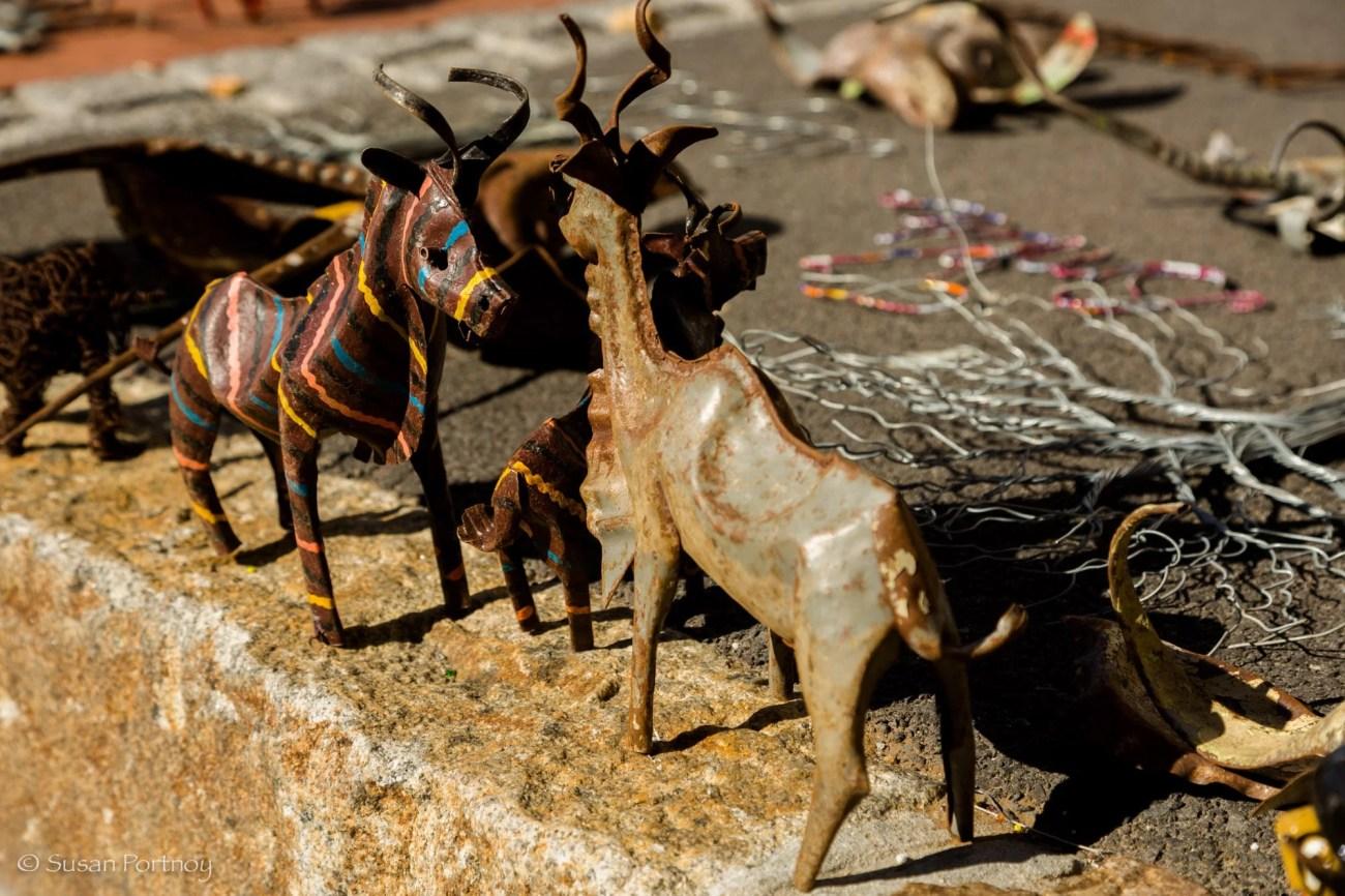 Wooden wildlife animals for sale in Kalk Bay