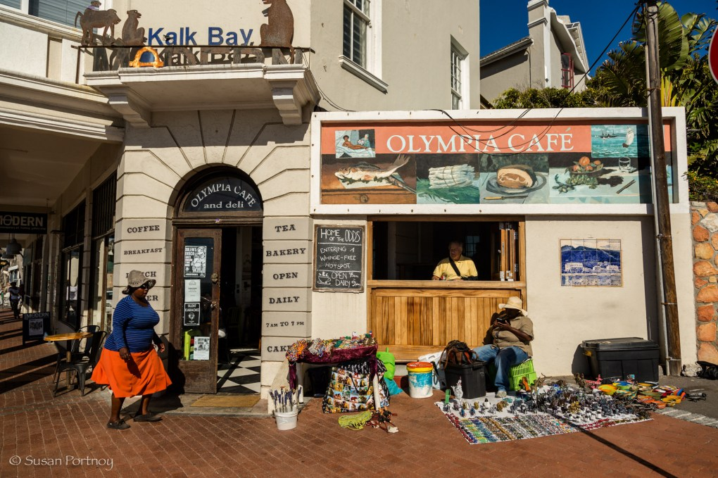 Olympia Diner in Kalk Bay, South Africa
