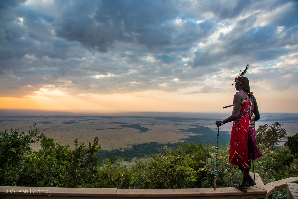 Taken from the main deck of Angama Mara overlooking the Masai Mara - All you need to know to plan the best safari in Kenya