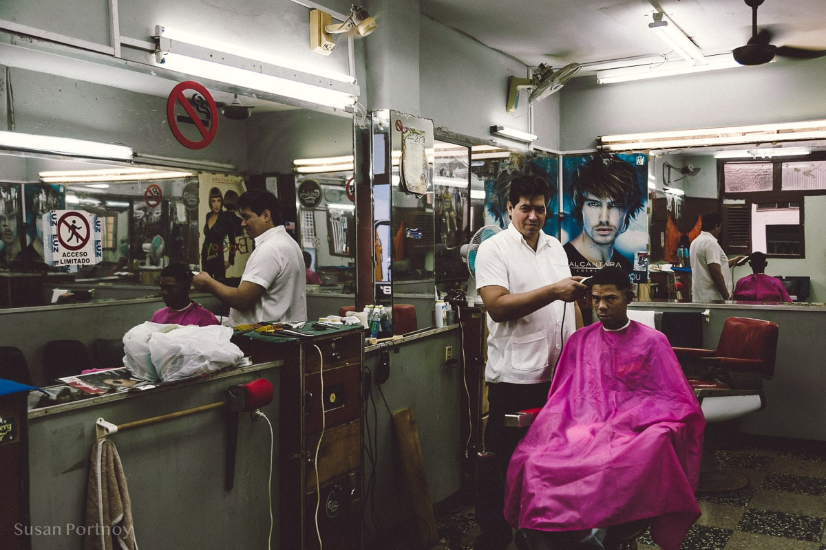 Small barber
