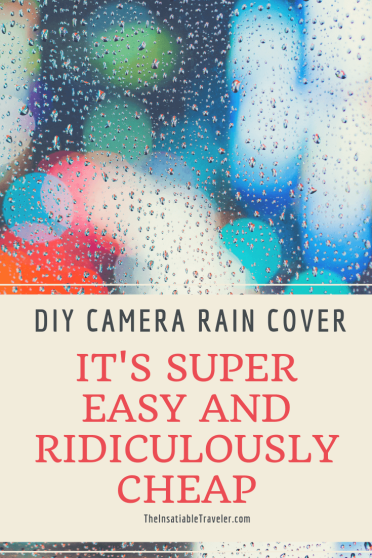Don't spend a lot of money on a DSLR camera rain cover. It's not necessary. This video tutorial shows you how to make your own DIY version in a flash.