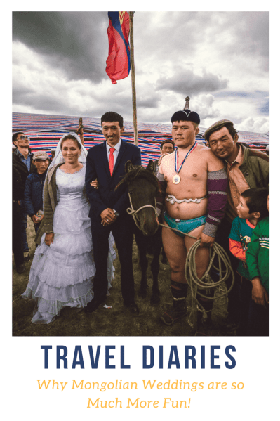 Did you know that Mongolian weddings include wrestling matches and horse races- And that's not all. Check out this post for the deets.